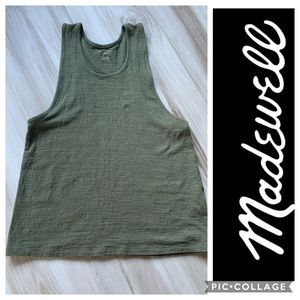 Miles by Madewell Army Green Tank